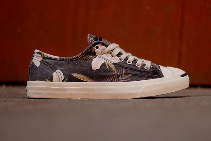 converse jack purcell navy floral