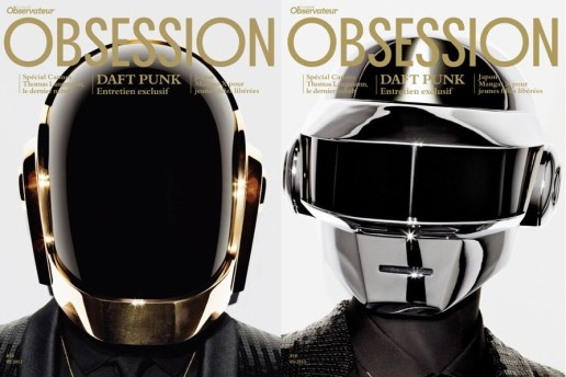Daft Punk Cover the May 2013 Issue of Obsession Magazine