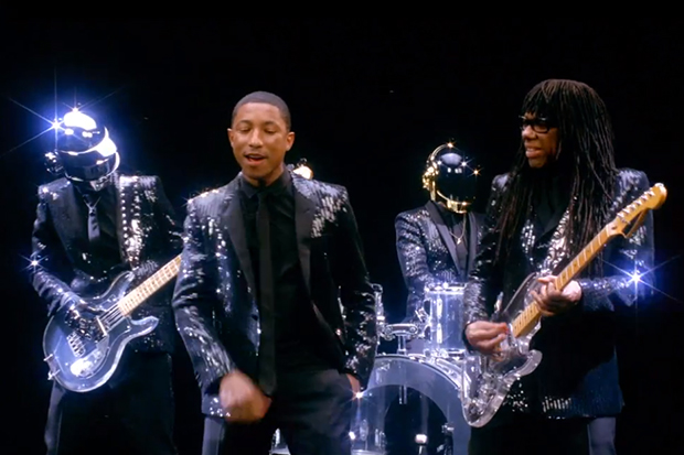 Daft Punk featuring Pharrell & Nile Rodgers - Get Lucky   Video (Preview)