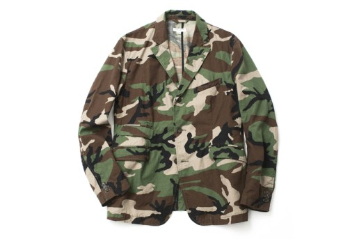 Engineered Garments 2013 Spring/Summer Camouflage Blazer