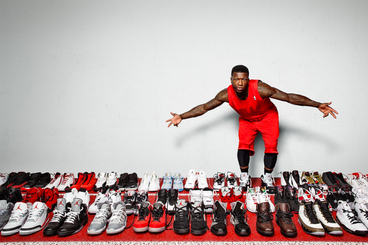 espn checks out nate robinsons vast jordan collection