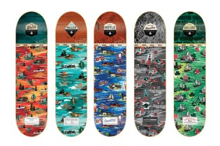 """Expedition One """"Aloha Bitches!"""" Skate Deck Series"""