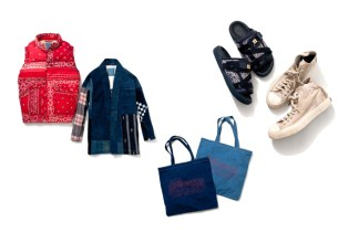 F.I.L. Indigo Camping Trailer 2013 ISETAN MEN'S Exclusive Collection