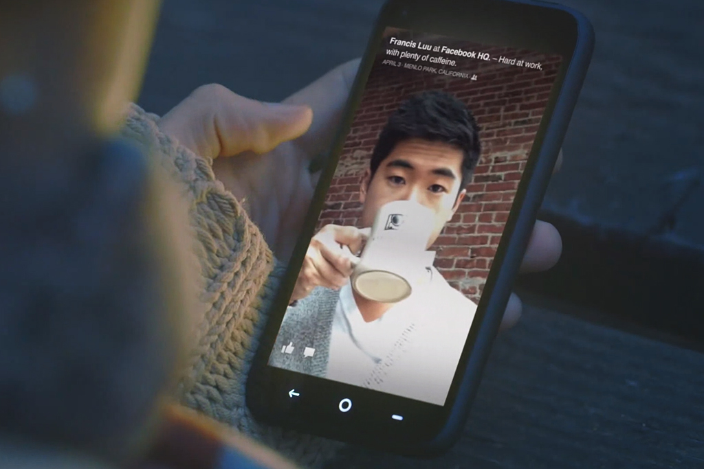 """Facebook Unveils Android-Integrated """"Home"""" and the HTC First"""