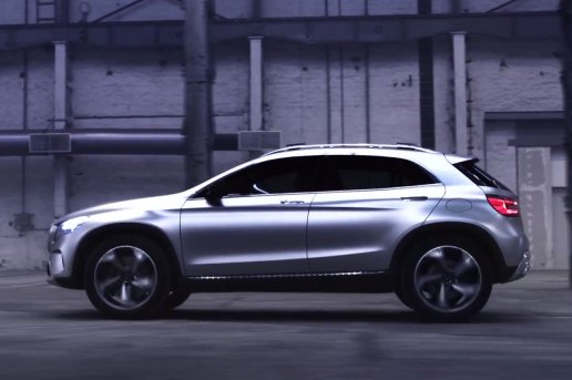 First Impressions of the Mercedes-Benz GLA Concept