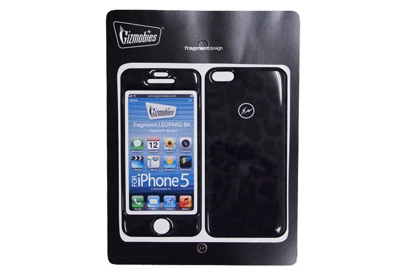 fragment design x Gizmobies iPhone 5 BLACK LEOPARD Protector