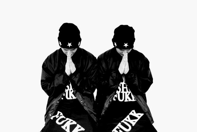 "FRESH.i.AM ""DESTROY & REBUILD"" Editorial featuring the ATL Twins"
