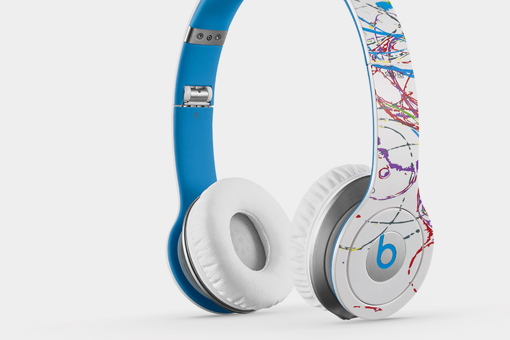 futura x beats by dre solo hd headphones hypebeast. Black Bedroom Furniture Sets. Home Design Ideas