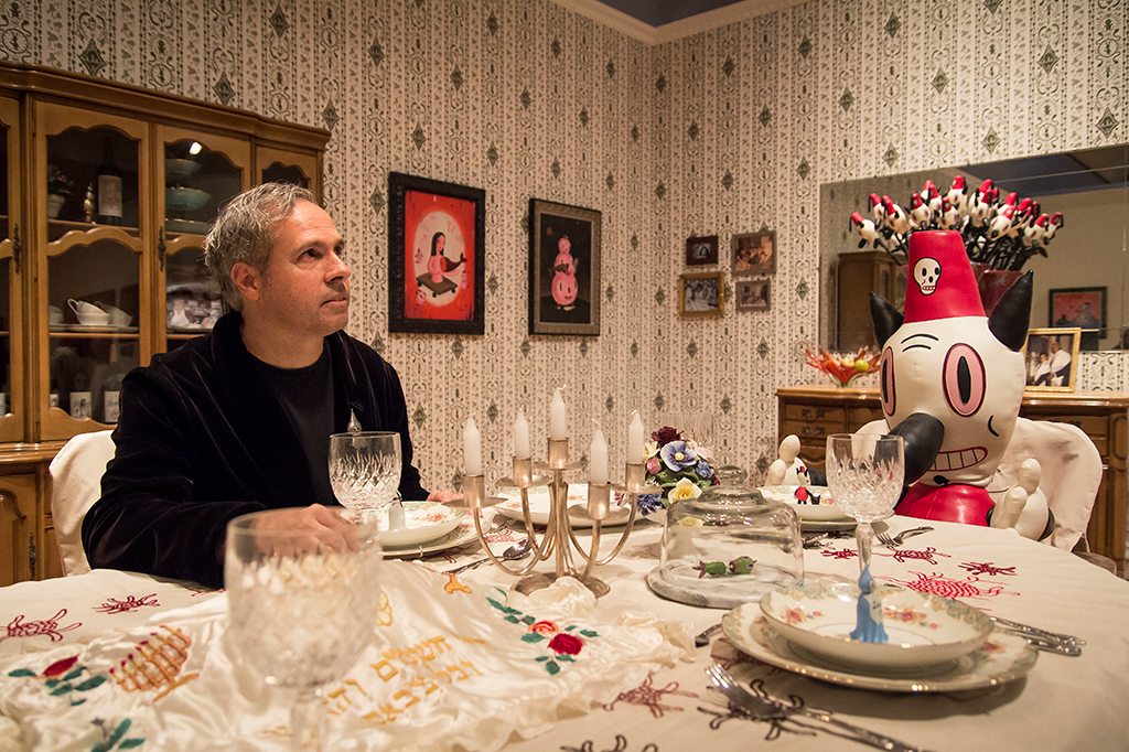 """Gary Baseman """"The Door is Always Open"""" @ The Skirball Cultural Center Preview"""