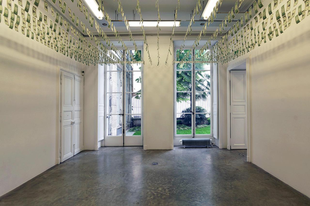 "Gianni Motti ""Money Box"" Exhibition Recap @ Galerie Perrotin"