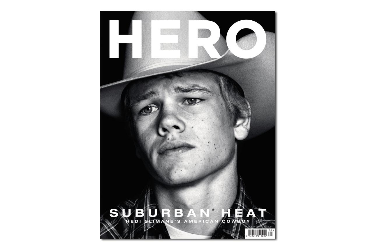 "Hedi Slimane ""American Cowboys"" Editorial for HERO Magazine"