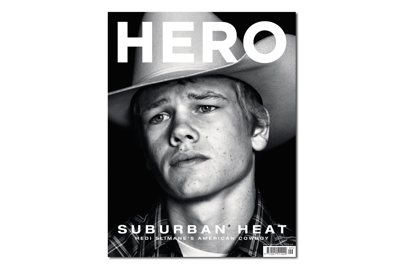 "Hedi Slimane ""American Cowboys"" Editorial for HERO Magazine"