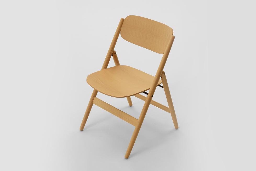 Hiroshima Folding Chair by Naoto Fukasawa