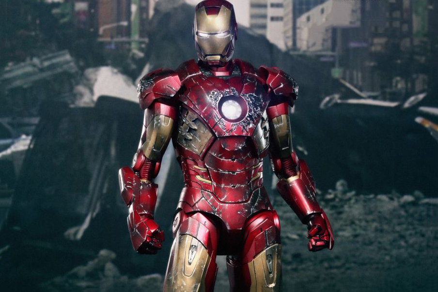 hot toys the avengers iron man battle damaged mark vii limited edition collectible figure