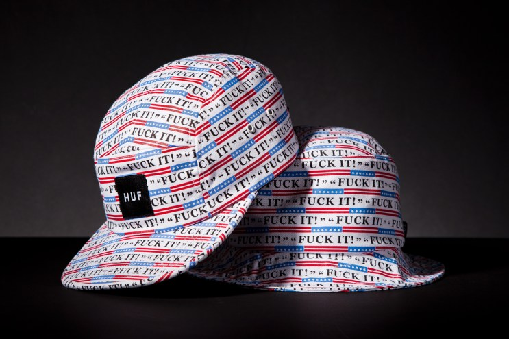 """HUF 2013 Spring/Summer """"Fuck It"""" Collection"""