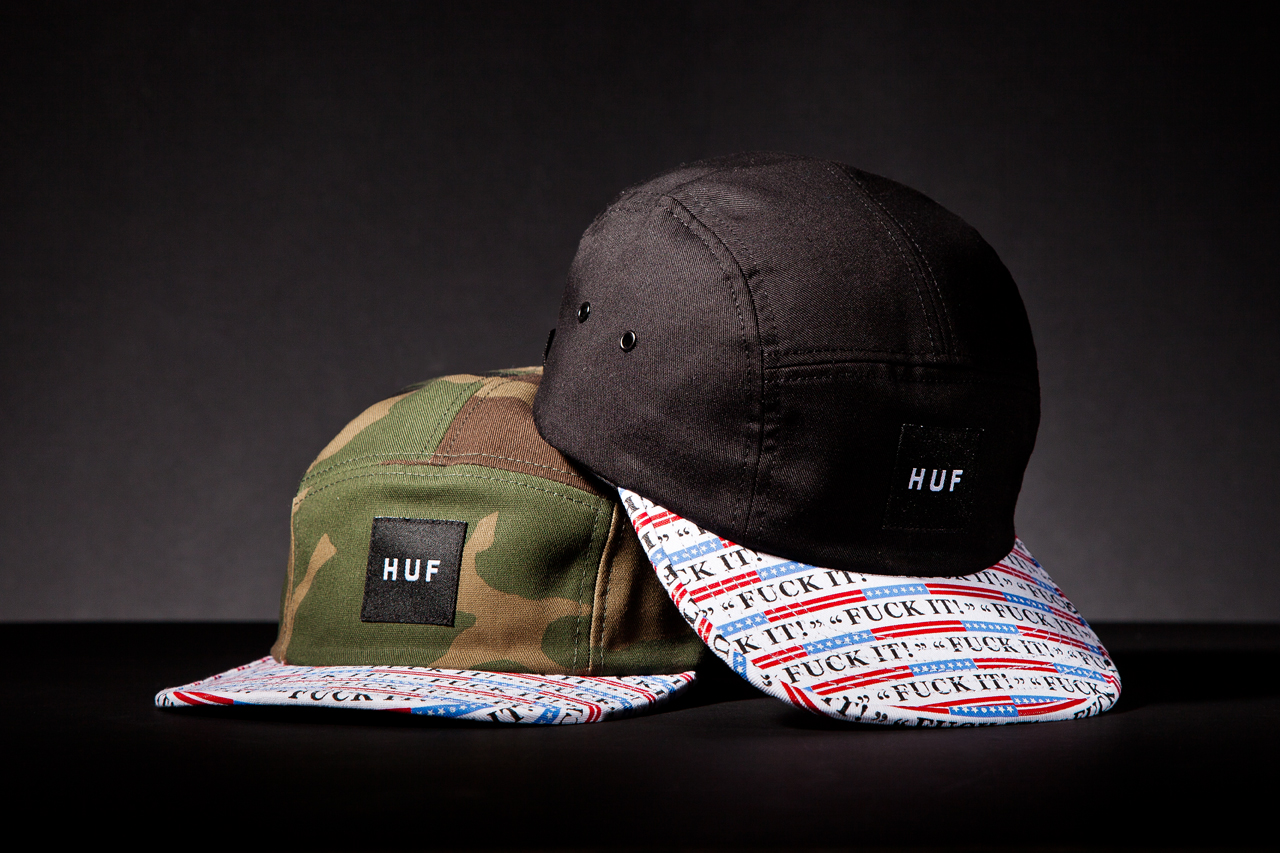 "HUF 2013 Spring/Summer ""Fuck It"" Collection"