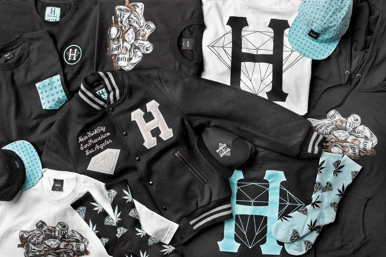 huf x diamond supply co 2013 spring summer collection