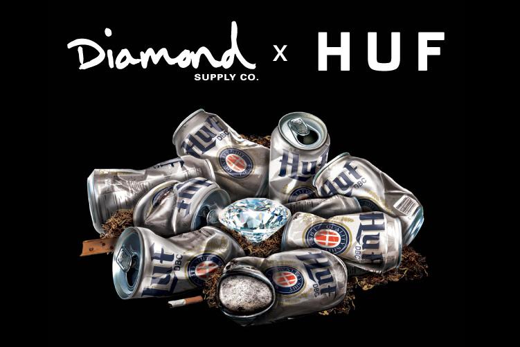 Diamond Supply Co. x HUF 2013 Spring/Summer Teaser
