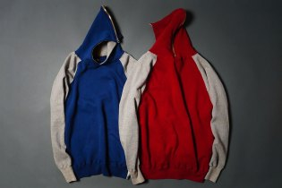 HUMAN MADE 2013 Spring/Summer Full-Zip Hooded Sweatshirt