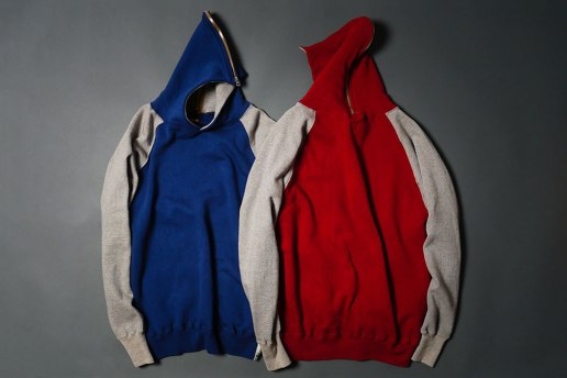 HUMAN MADE 2013 Spring/Summer Full-Zip Hooded Sweatshirt