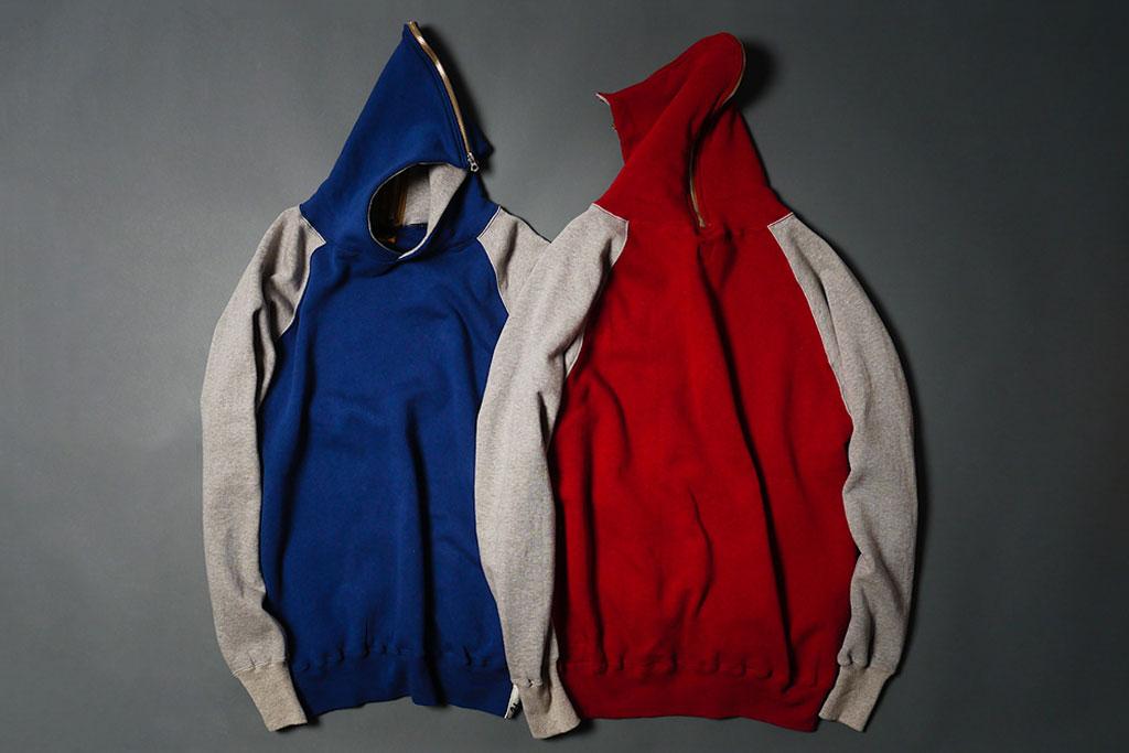 human made 2013 spring summer full zip hooded sweatshirt