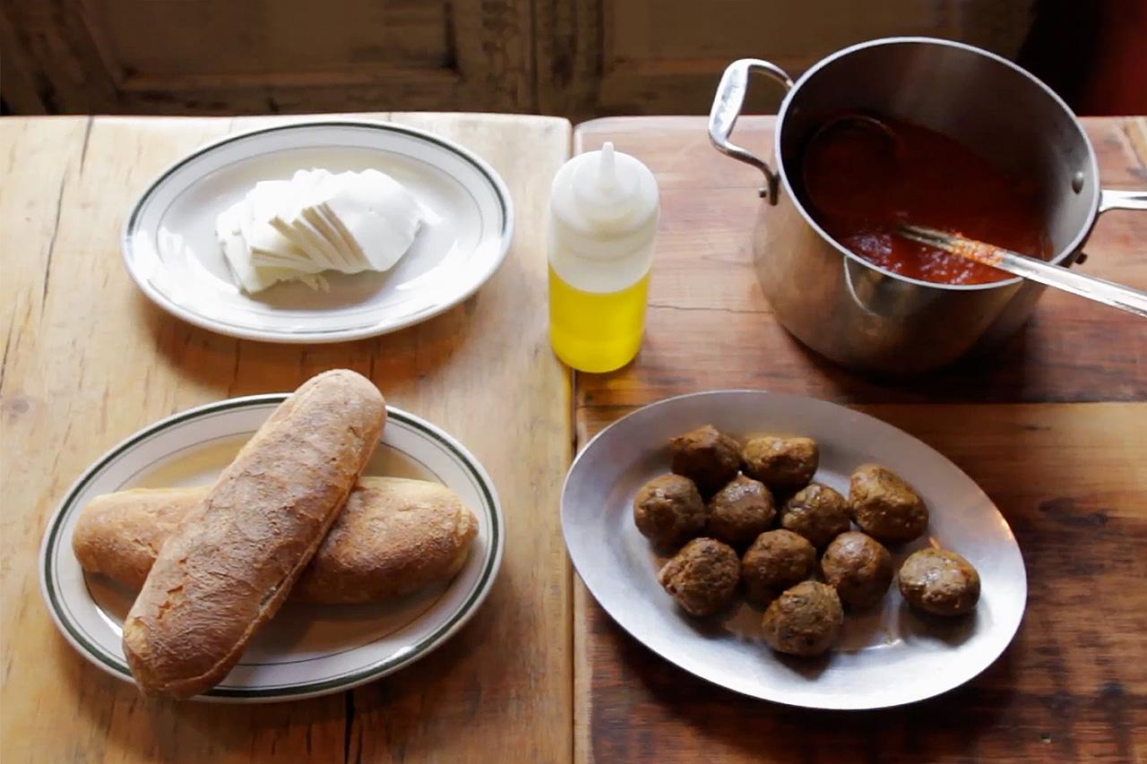 HYPEBEAST Eats… Classic Beef Meatball 'Hero' Sandwich by Meatball Shop NYC