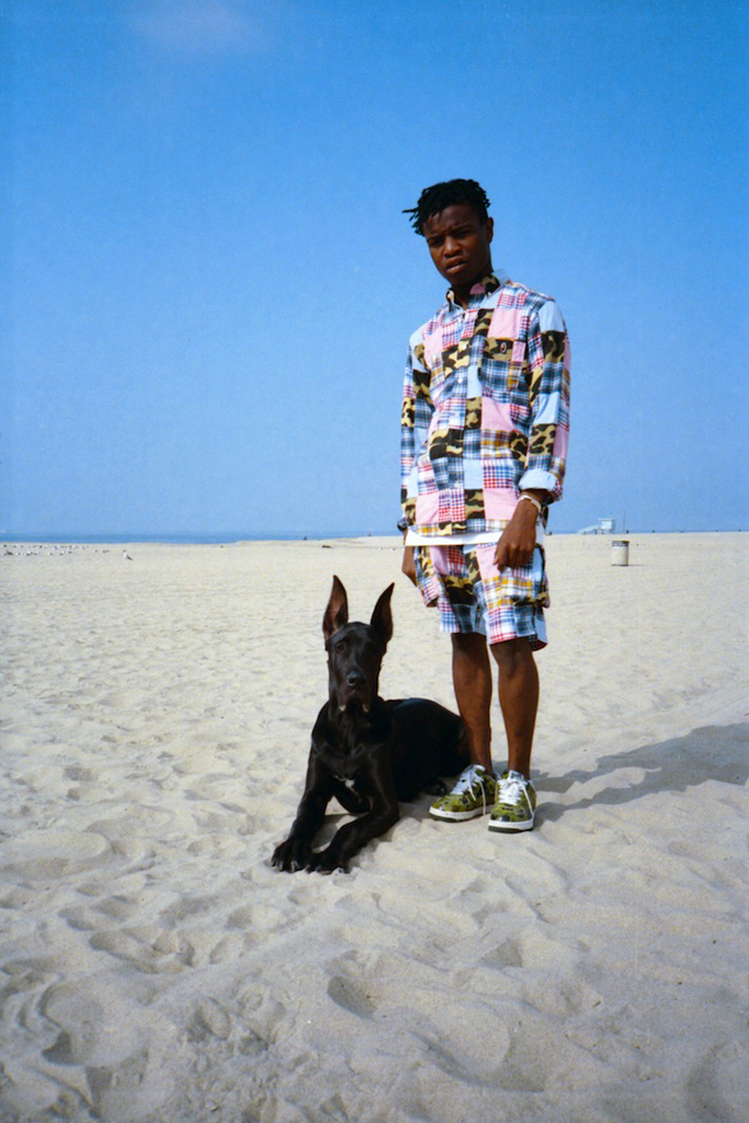 "i-D Magazine ""BAPE's Natives"" Editorial featuring Ian Connor, Anwar Carrots & Travi$ Scott"