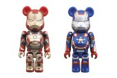 Iron Man 3 x Medicom Toy 100% Bearbricks