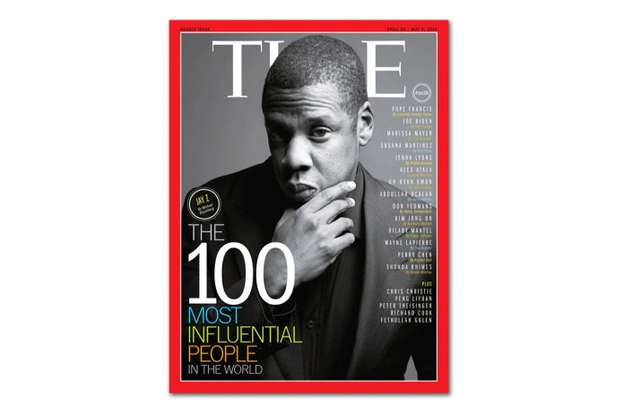 "Jay-Z Covers TIME Magazine's ""100 Most Influential People in the World"" Issue"