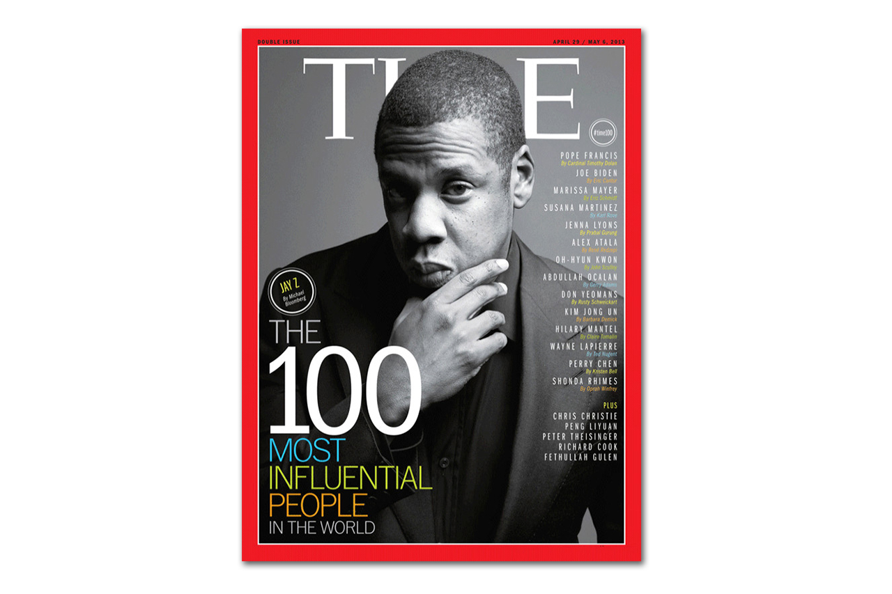 """Jay-Z Covers TIME Magazine's """"100 Most Influential People in the World"""" Issue"""