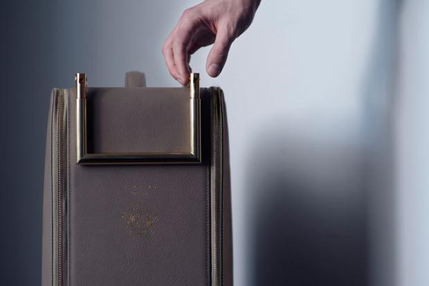 KAGE Trolley Suitcase by TSATSAS for Wallpaper* Handmade