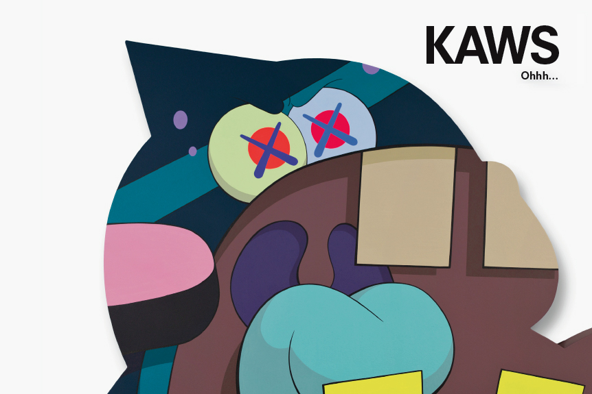 kaws ohhh exhibition kaikai kiki gallery