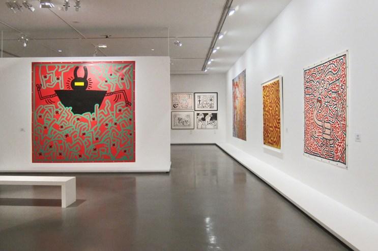 "Keith Haring ""The Political Line"" Retrospective Exhibition @ MAM Paris Recap"