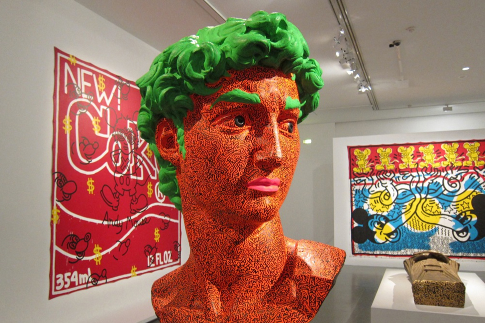keith haring the political line retrospective exhibition mam paris recap