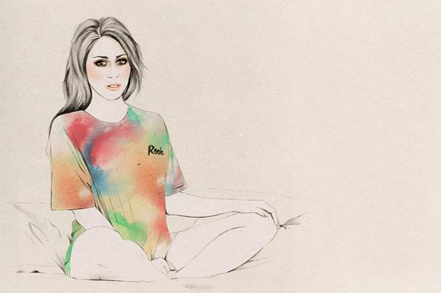 Kelly Thompson x ROOK 2013 Spring/Summer Illustrated Lookbook