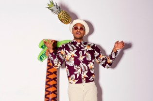 Le Berlinois x President's Hawaiian Japanese Printed Shirts