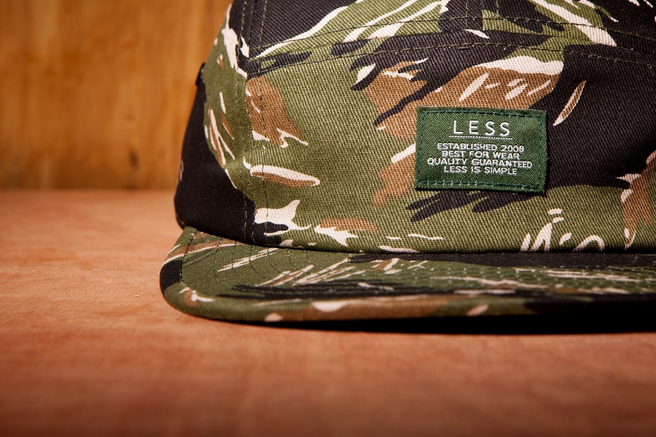 Less 2013 Spring Tigerstripe Logo Camp Cap