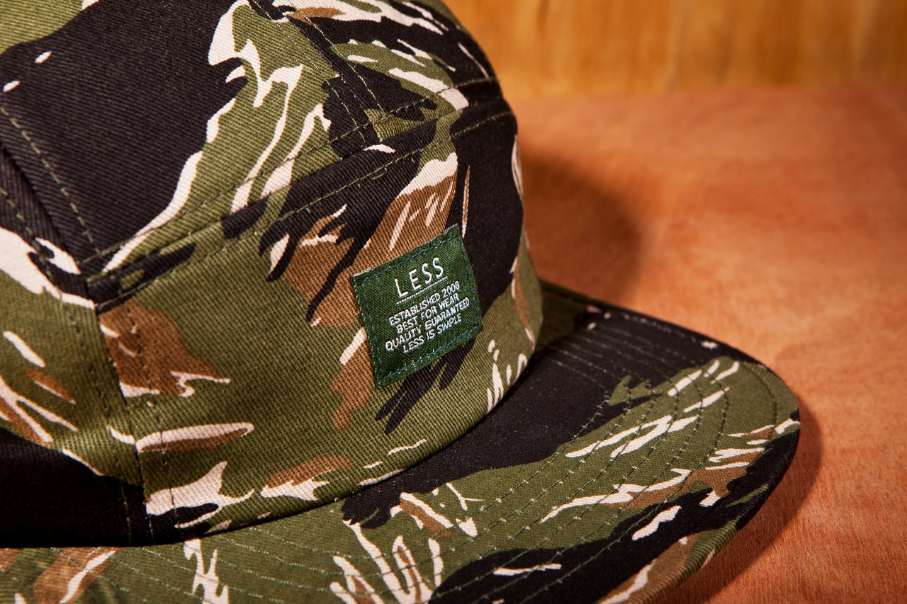 Less 2013 Spring Tigerstripe Logo Camp Cap