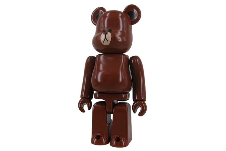 LINE x Medicom Toy 100% & 400% Bearbricks