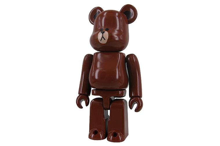 LINE x Medicom Toy 100% & 400% Bearbricks
