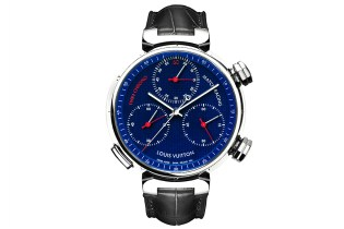 Louis Vuitton Tambour Twin Chrono