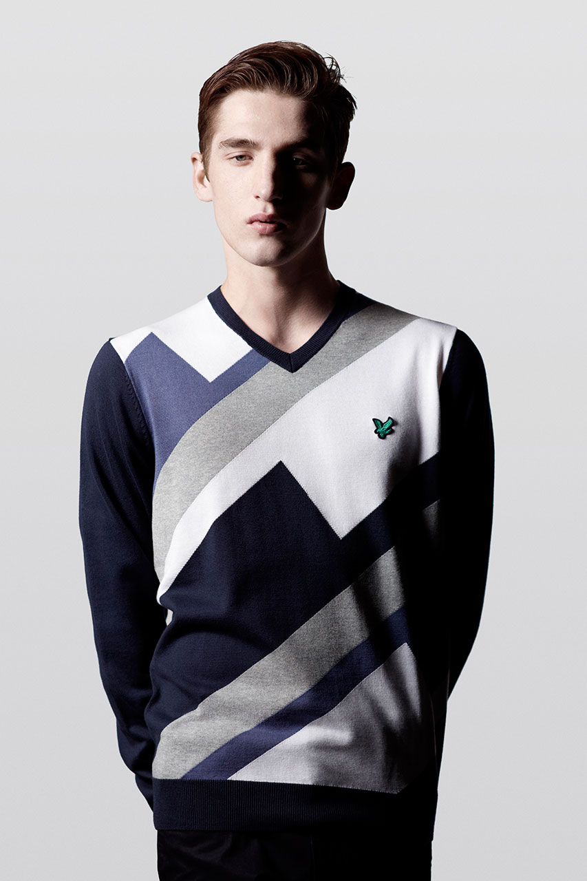 "Lyle & Scott 2013 Spring/Summer ""Graphic Golf"" Collection"