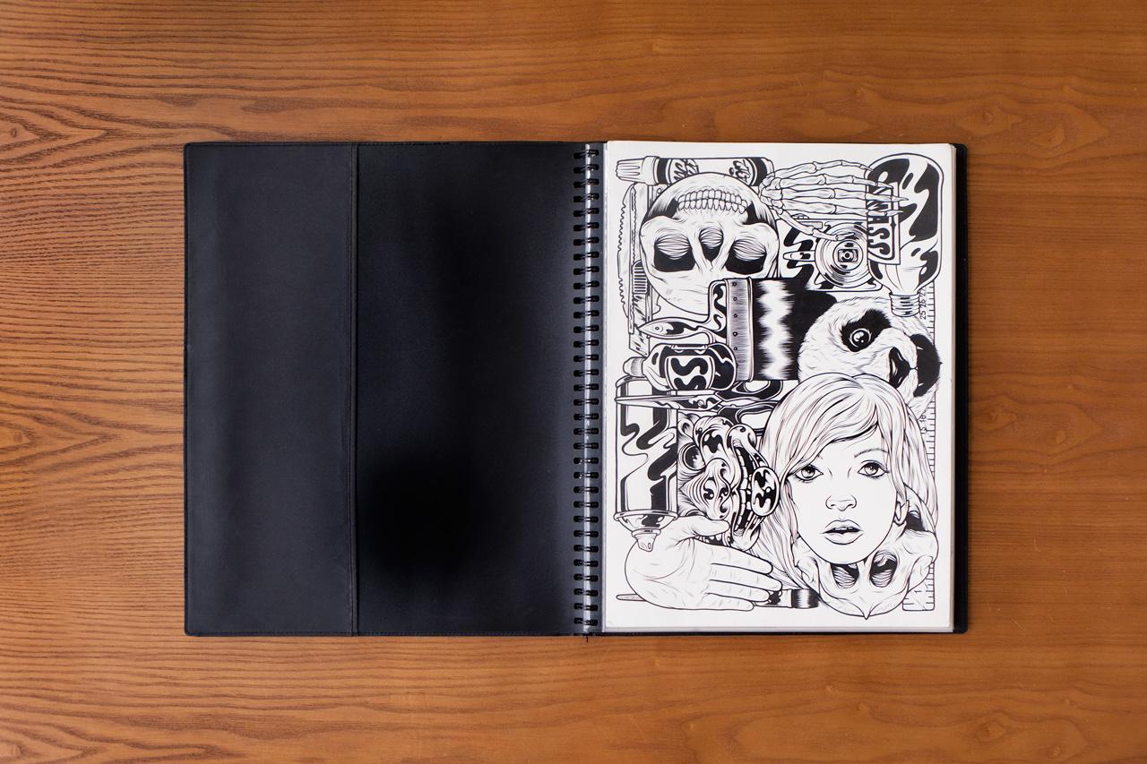 Pen & Paper: Mark Goss