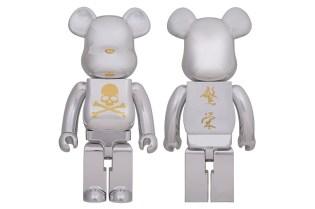 mastermind JAPAN x MEDICOM TOY BEARBRICK CHROME SILVER Collection