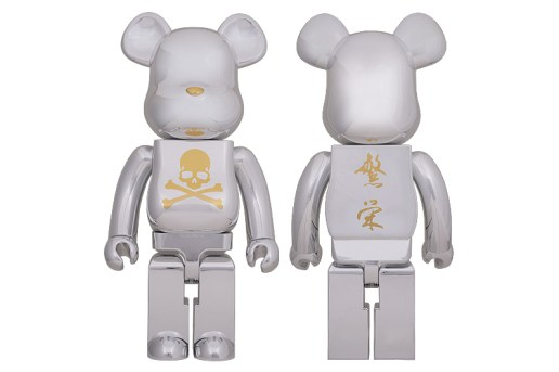 mastermind JAPAN x MEDICOM TOY BEARBRICK CHROME SILVER Collection
