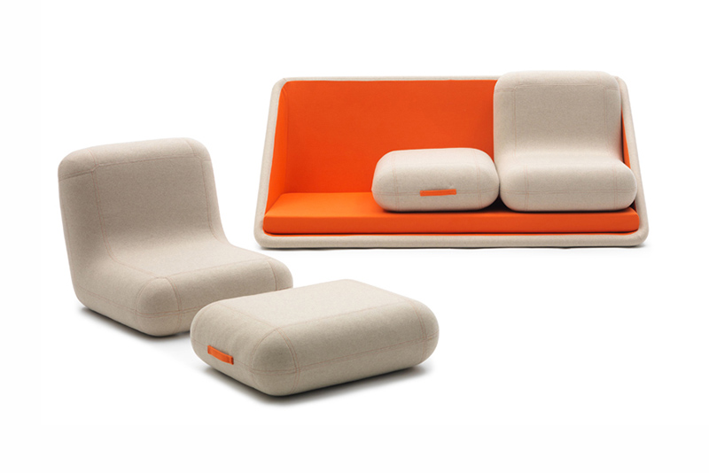 matali crasset concentre de vie modular sofa for campeggi