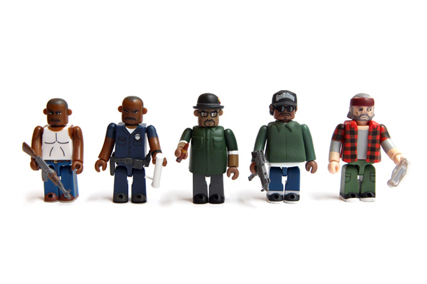 Medicom Toy x Rockstar Games Grand Theft Auto: San Andreas Kubrick Set