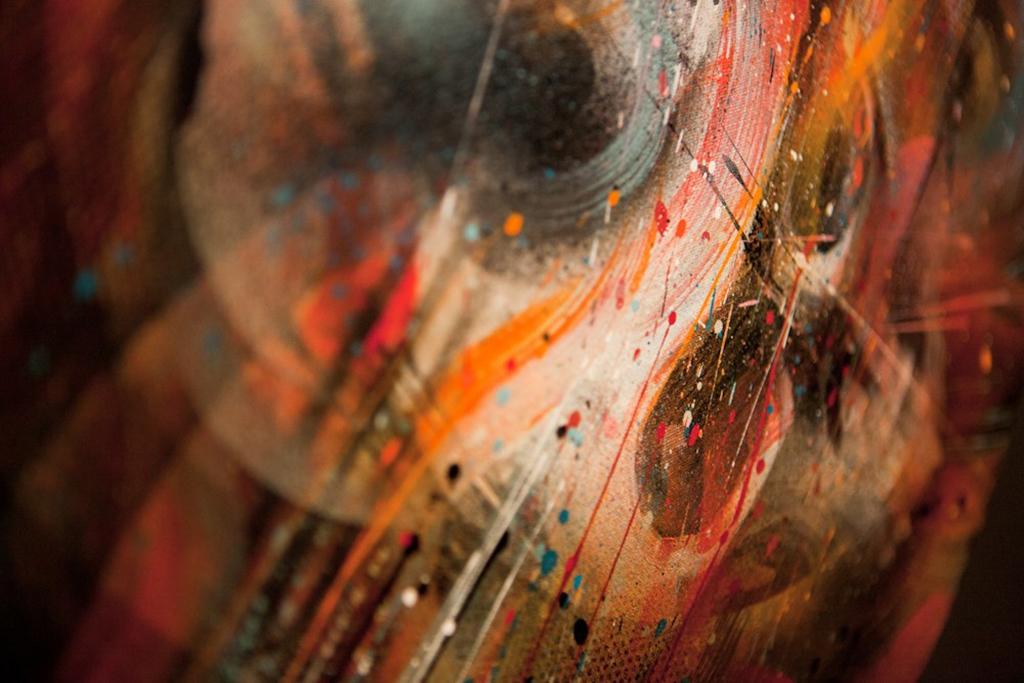 "MEGGS ""Heavenly Creatures"" Exhibition @ Thinkspace"