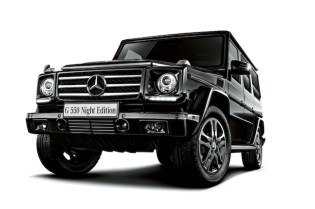 """Mercedes-Benz G550 """"Night Edition"""" Japan Exclusive"""