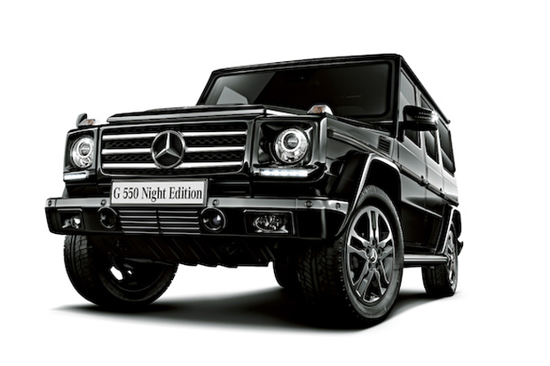 mercedes benz g550 night edition japan exclusive